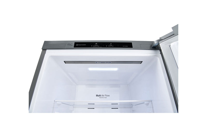 LG 335L Bottom Mount Fridge with Door Cooling in Stainless Finish