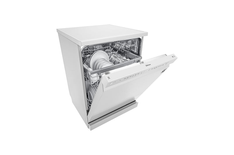 LG 14 Place QuadWash® Dishwasher in White Finish