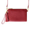 Moyork WATT Leather Clutch w/SS 4000 mAh PB - Merlot Red