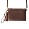Moyork WATT Leather Clutch w/SS 4000 mAh PB - Nutmeg brown