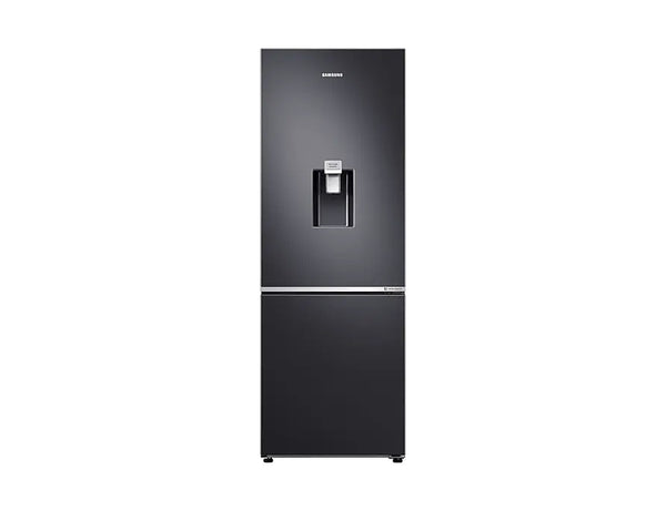 Samsung 329L Bottom Mount Fridge/Freezer in Matte Black with Water Dispenser * Free Delivery *