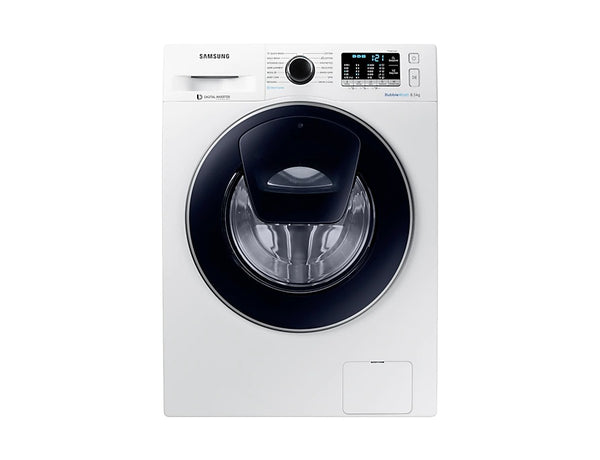 Samsung 8.5kg Front Load Washing Machine With Add Wash in White * Free Delivery * ( Black Friday Deal Ends Monday )