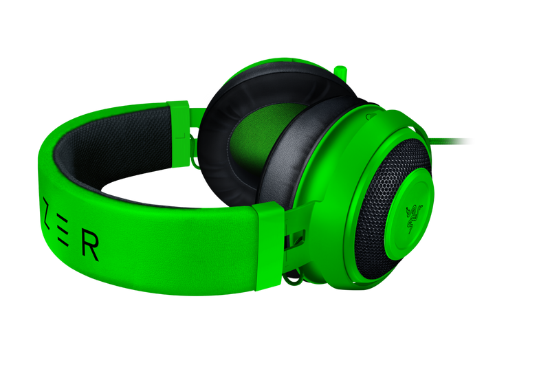 RAZER KRAKEN - MULTI-PLATFORM WIRED GAMING HEADSET - GREEN - FRML PACKAGING