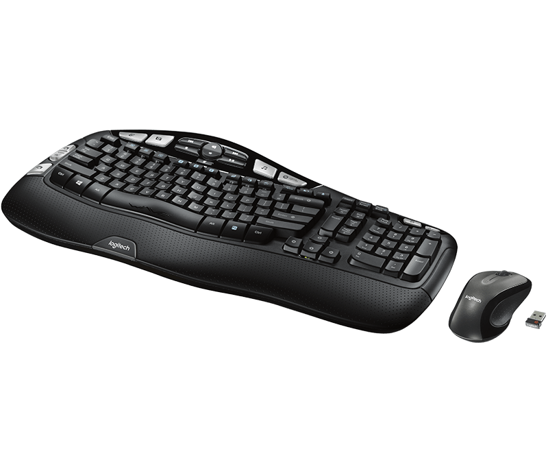 Logitech MK550 Unifying Wireless Wave Keyboard and Mouse
