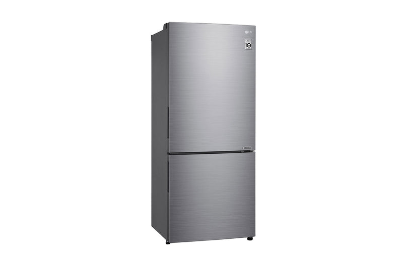 LG 454L Bottom Mount Fridge with Door Cooling in Stainless Finish * Free Delivery *