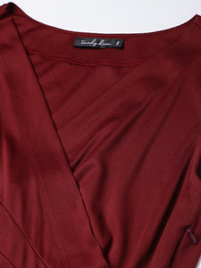 Black & White Stripe Shirt Dress