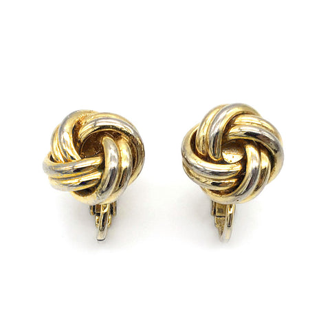【LA買付】ヴィンテージ ノット イヤリング/Vintage Knot Clip On Earrings