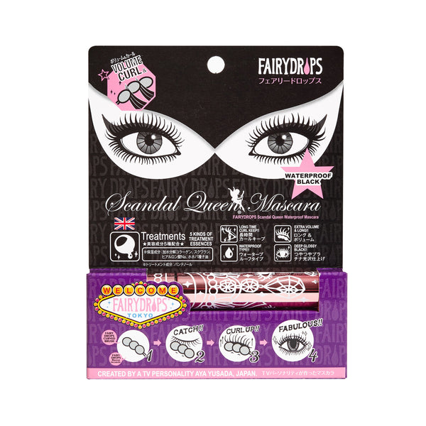 FAIRYDROPS Scandal Queen - Waterproof Mascara