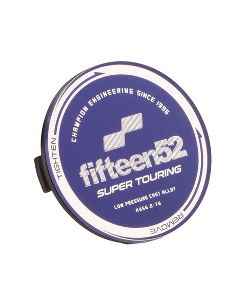 fifteen52 Super Touring Nabendeckel blau