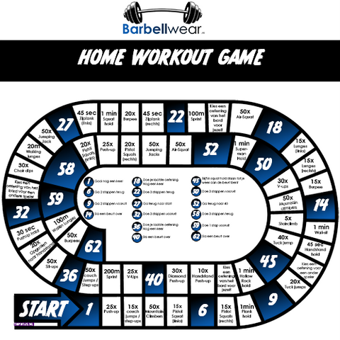Barbellwear Home Workout Game