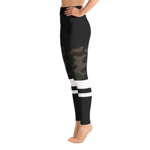 Camo stripe | Sportlegging