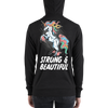 Strong & Beautyful | zip hoodie