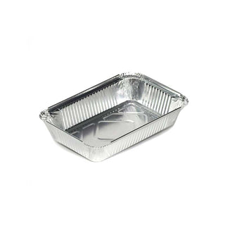 Ducon Aluminium Container With Lids - 8389 - 1000pc