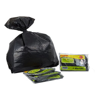 Garbage Bags Heavy Duty Recycle Tidy - 95x120 - 4pkt