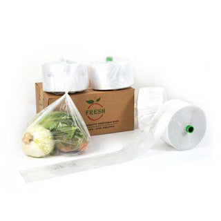 Vegetable Bag on Roll Clear - 7kg