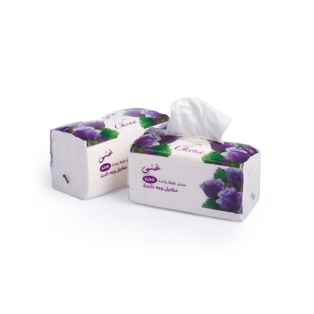 Ghena Facial Tissue -600 sheet - 30Pc