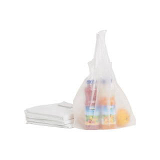 tru Clear T-Shirt Bags 10kg - Small
