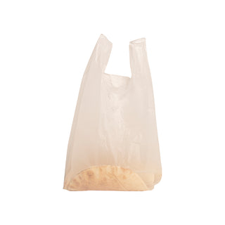 White Carry Bags (Roti Bag) - Large - 20kg