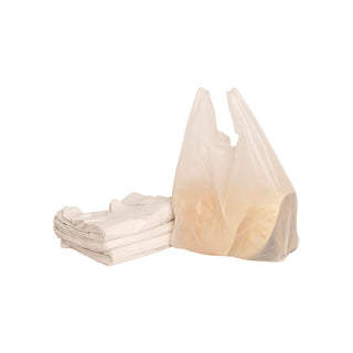 White Carry Bags (Roti Bag) - Medium - 20kg