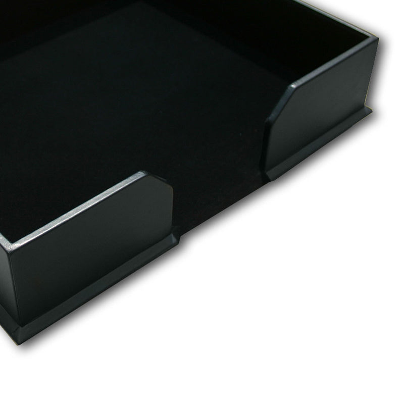 Classic Black Leatherette Conference Pad Holder