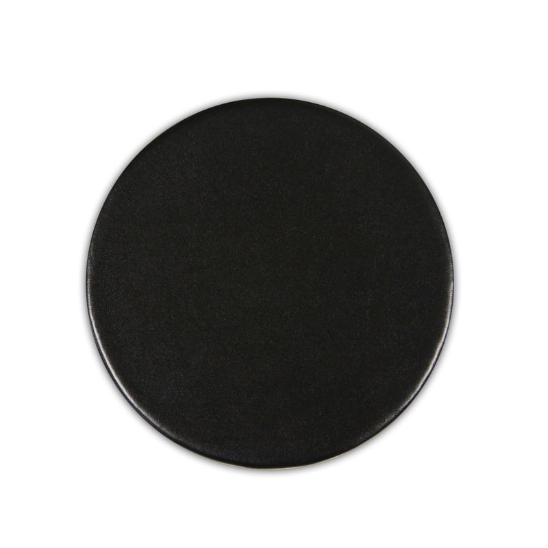 Black Bonded Leather Coaster