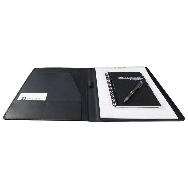 Black Leather Standard Portfolio