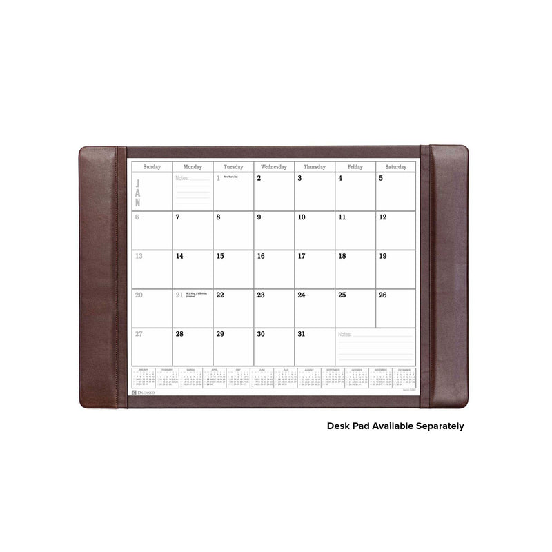 Desk Pad Monthly 2021 Calendar Insert Pack, 24.5 x 16