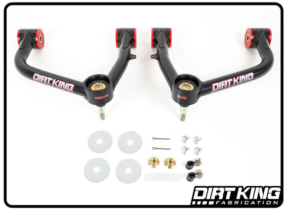 2019+ Chevy Silverado Dirt King Ball Joint Upper Control Arms