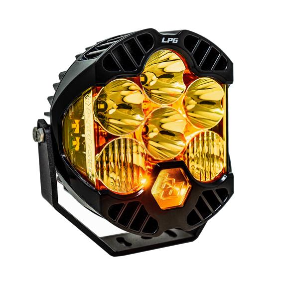 BAJA DESIGNS LP6 PRO, LED, SPOT, AMBER