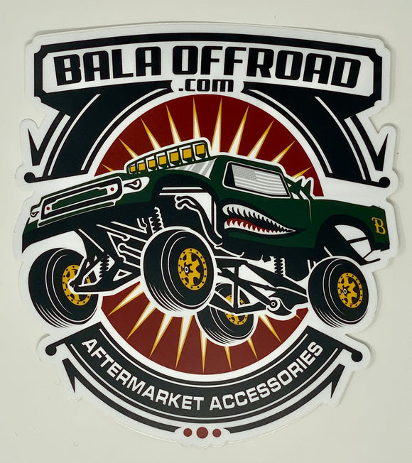 Bala Off-Road Decal 6
