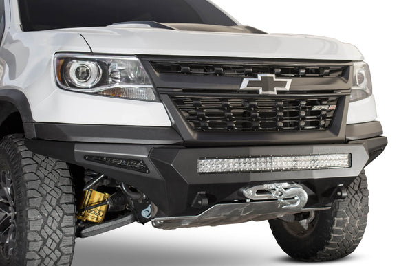 2017 - 2020 Chevy Colorado ZR2 Stealth Fighter Winch Front Bumper