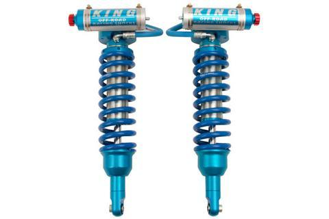 Front Coilovers ZR2 King Shocks OEM Replacement | 2.5 DIA. Reservoir Shock (PAIR)