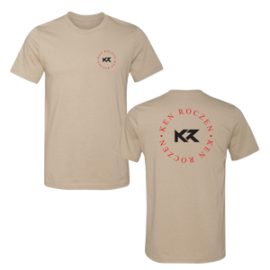 Ken Roczen Brand Tee - Heather Tan