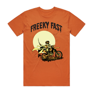Ken Roczen Freeky Fast Halloween Tee - Orange