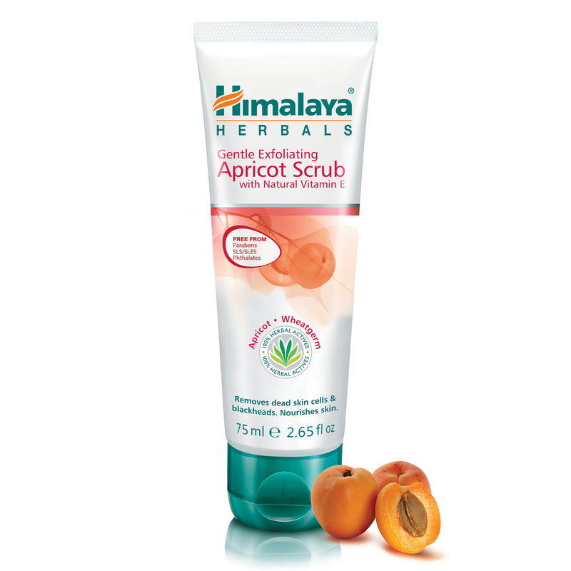 Himalaya Gentle Exfoliating Apricot Scrub - Removes Blackheads