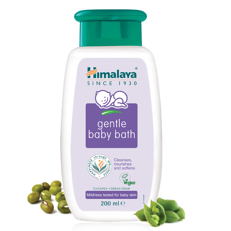 Himalaya Gentle Baby Bath - Cleanses, Soothes, and Nourishes