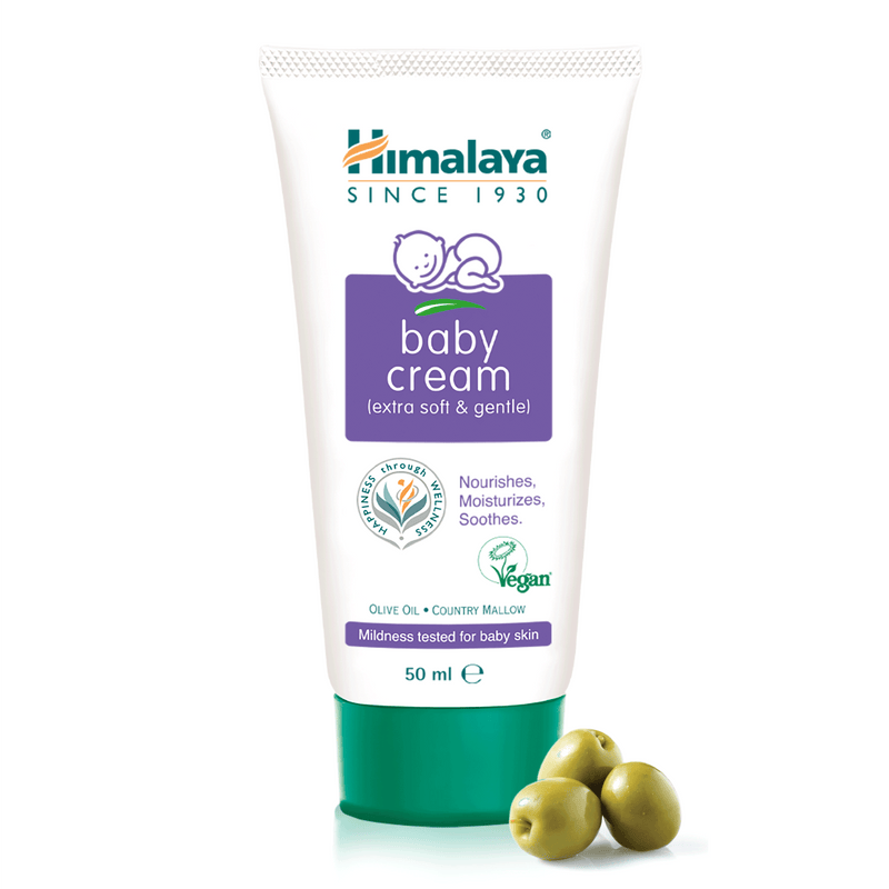 Himalaya Baby Cream - Provides Nourishment & Moisture