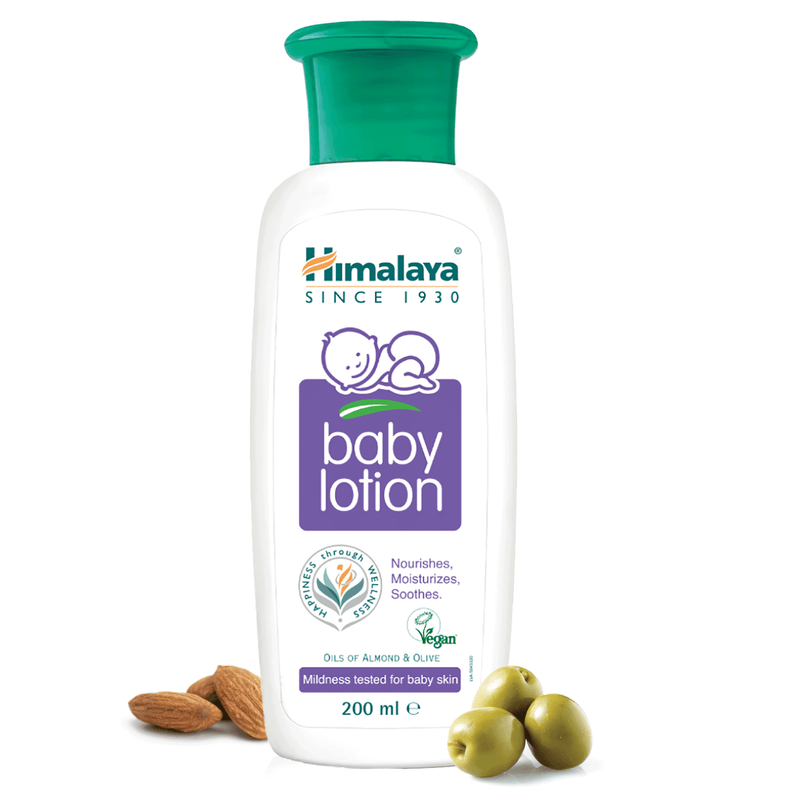 Himalaya Baby Body Lotion - Nourishes, Moisturizes & Soothes