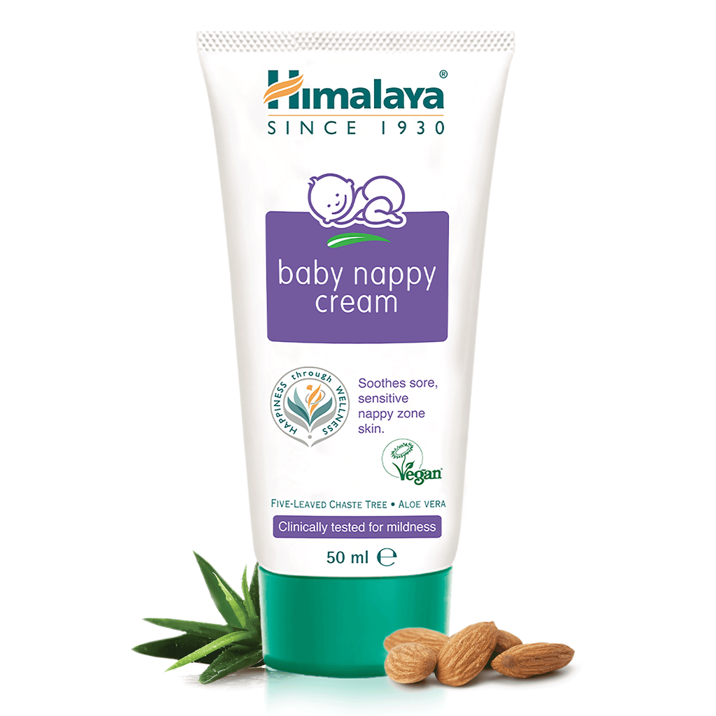 Himalaya Baby Nappy Cream - Soothes Sore, Sensitive Nappy Zone Skin