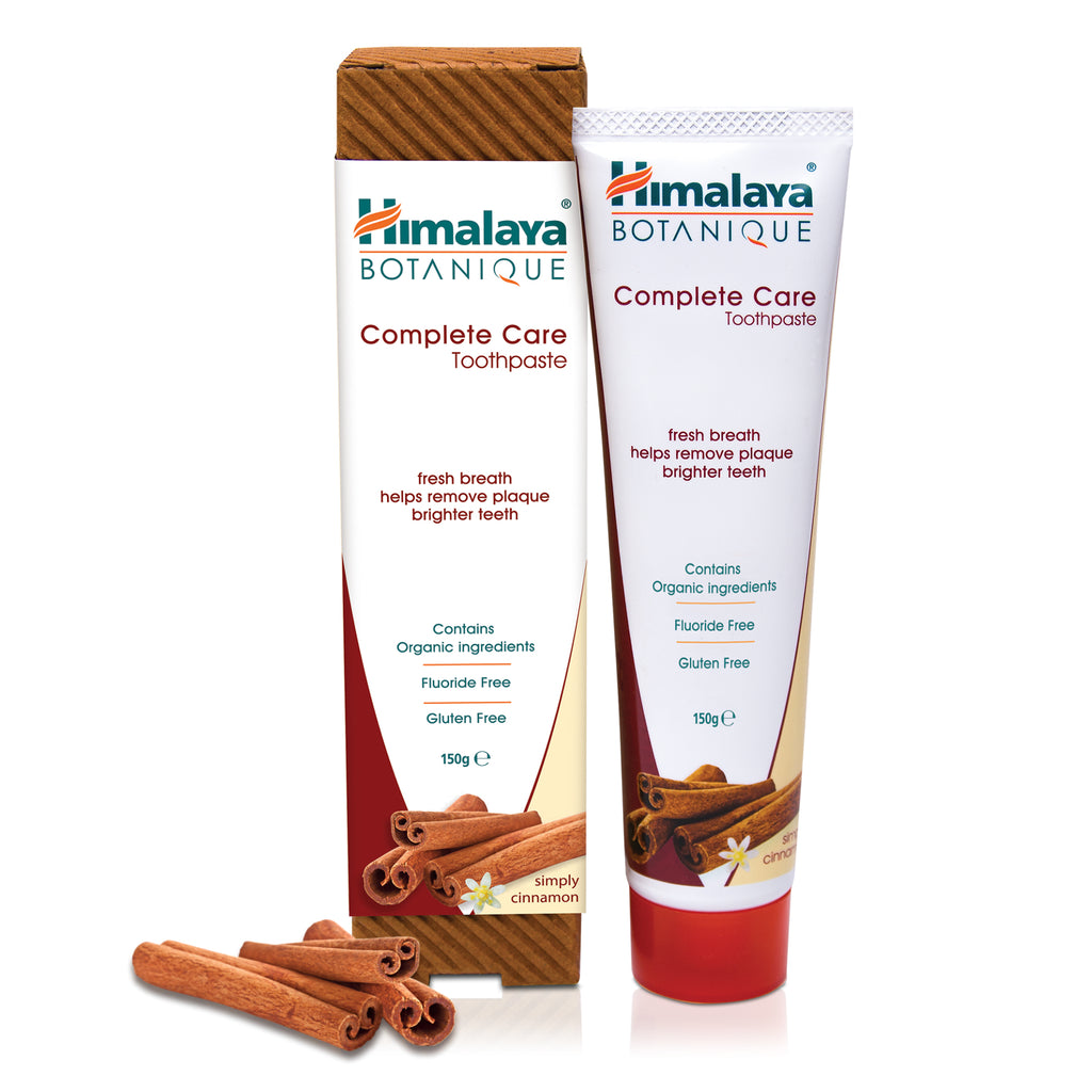 Himalaya BOTANIQUE Complete Care Toothpaste - Simply Cinnamon 150g