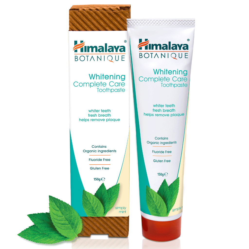 Himalaya BOTANIQUE Whitening Complete Care Toothpaste - Simply Mint