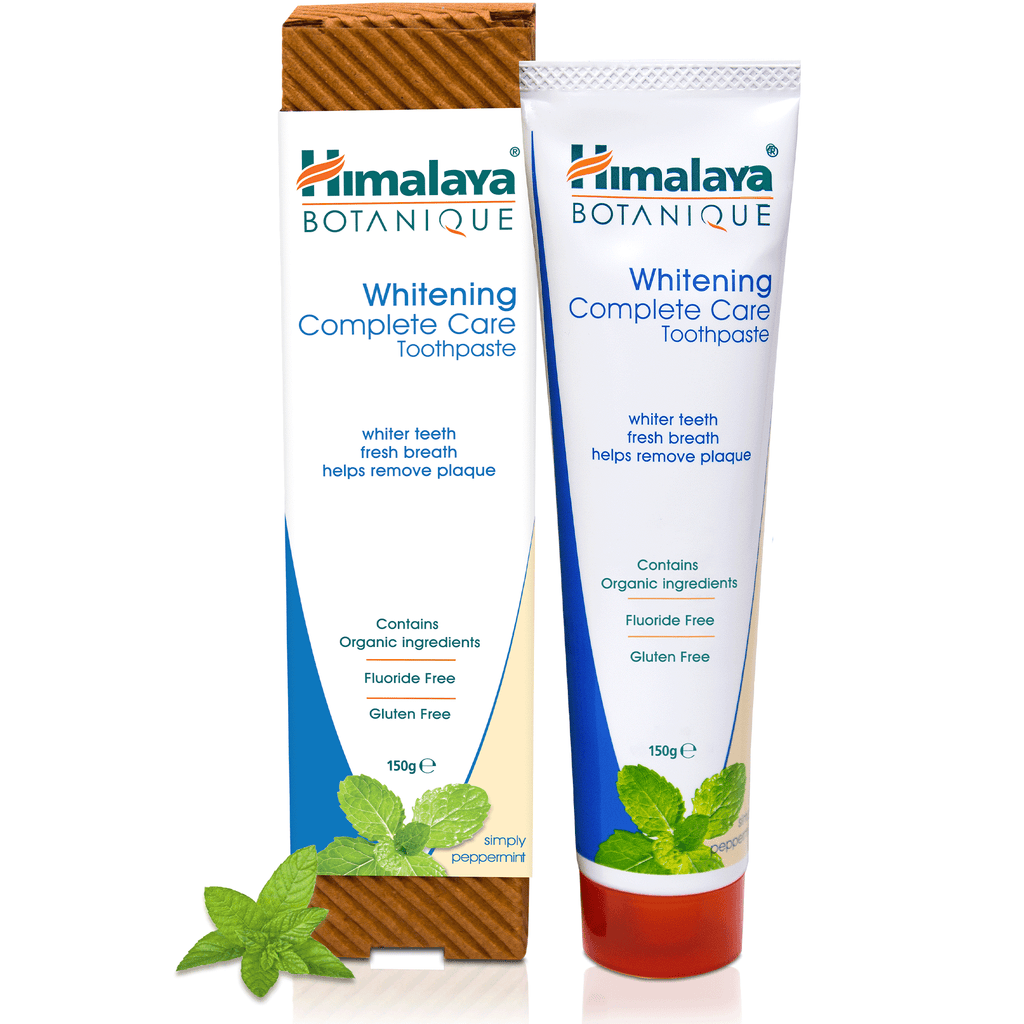 Himalaya BOTANIQUE Whitening Complete Care Toothpaste - Simply Peppermint