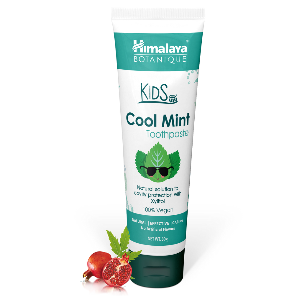 Himalaya Kids Cool Mint Toothpaste - Helps Prevent Tooth Decay