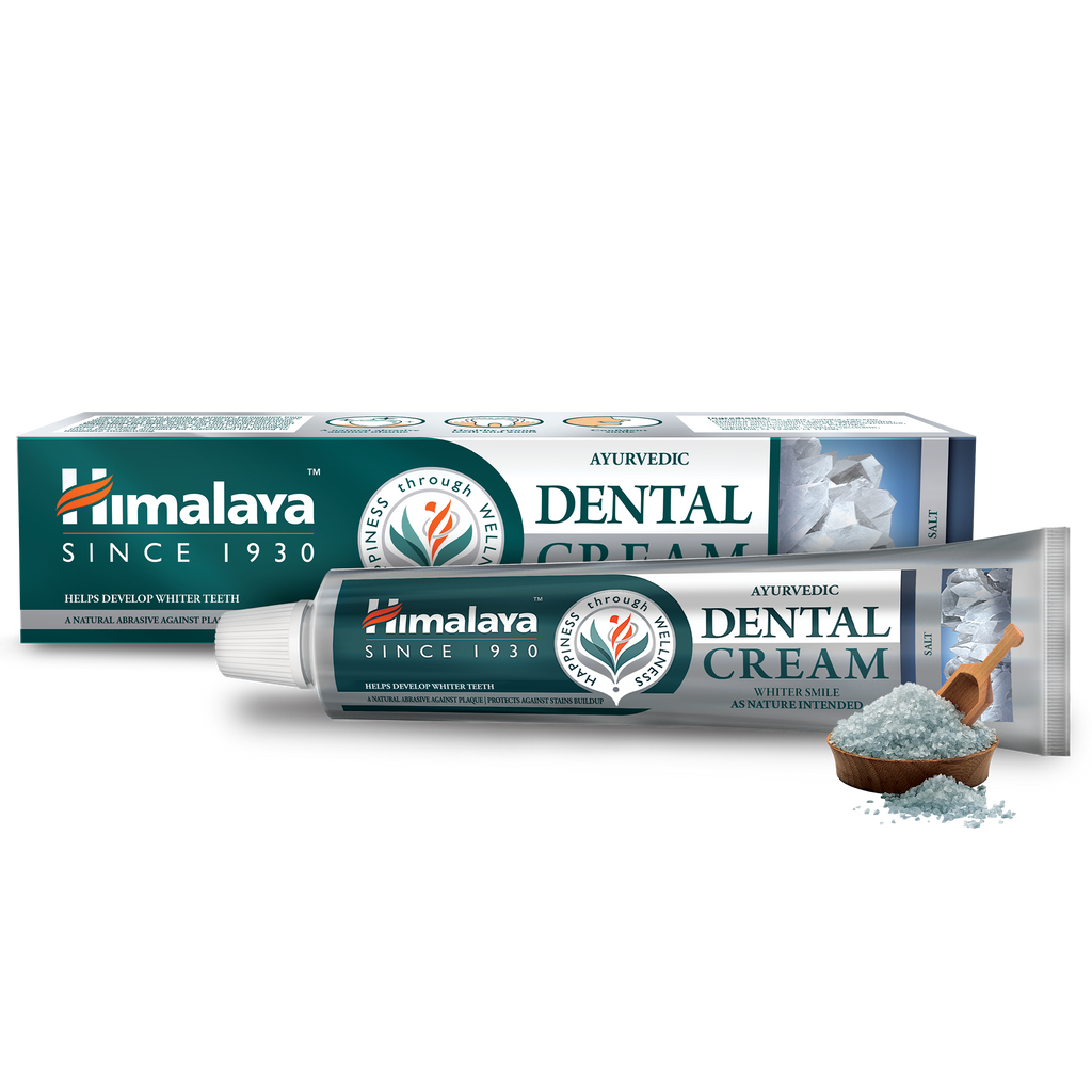 Himalaya Ayurvedic Dental Cream Herbal Toothpaste - Salt 100g