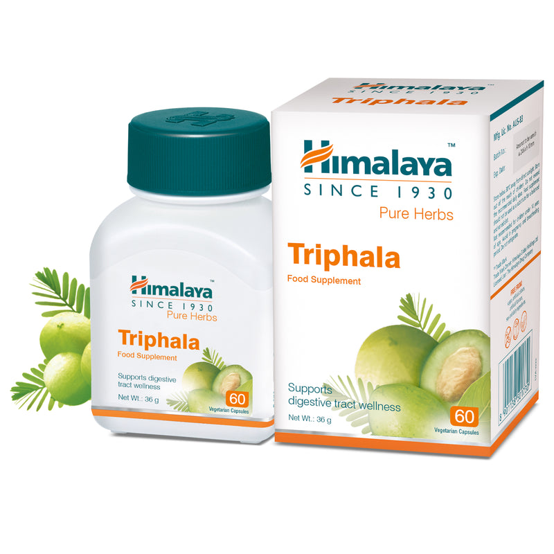 Himalaya Triphala 60 Capsules - Supports Digestive Tract Wellness