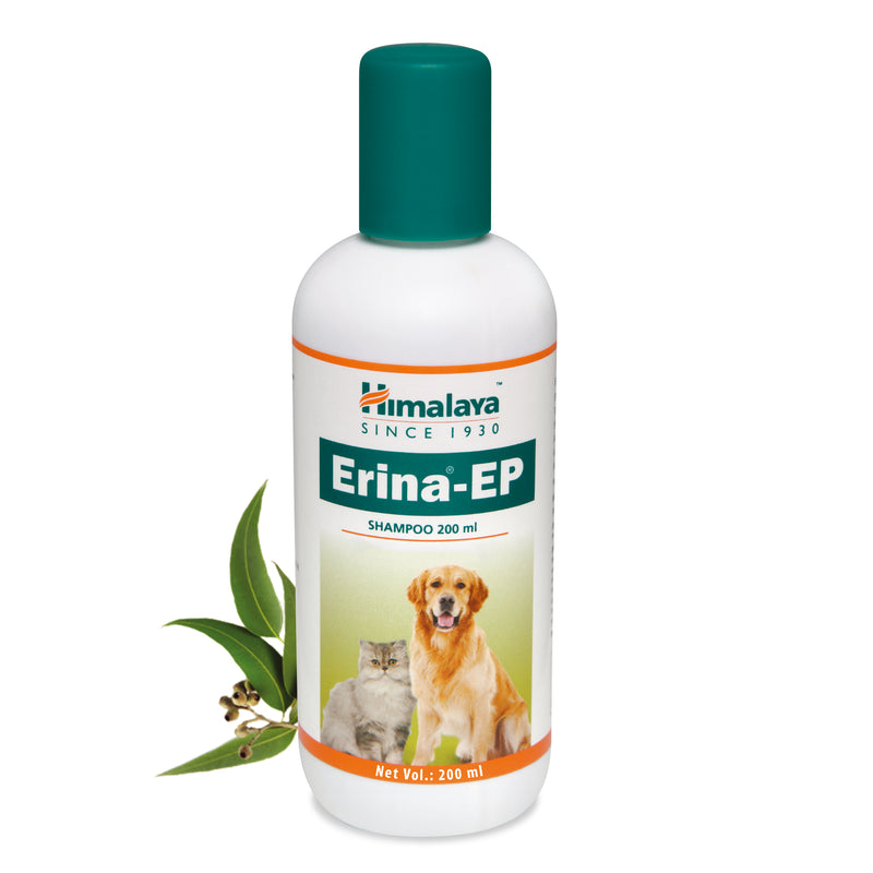 Himalaya Erina-EP Shampoo - Helps to Remove Fleas & Ticks Naturally