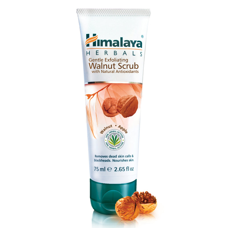Himalaya Gentle Exfoliating Walnut Scrub - Helps Remove Blackheads