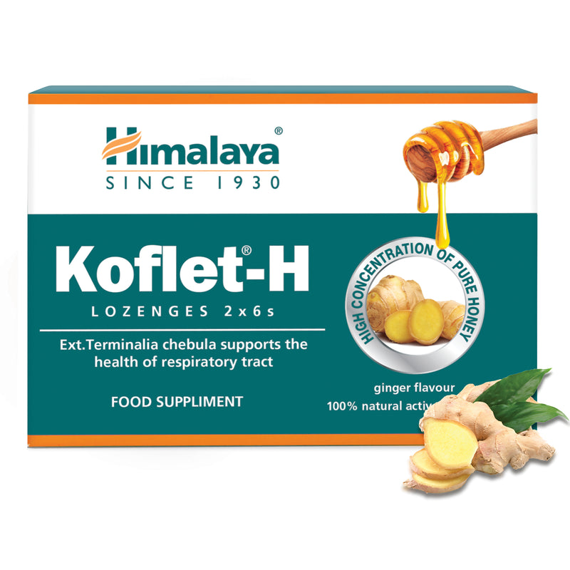 Himalaya Koflet-H Ginger - Prompt Relief from Cough