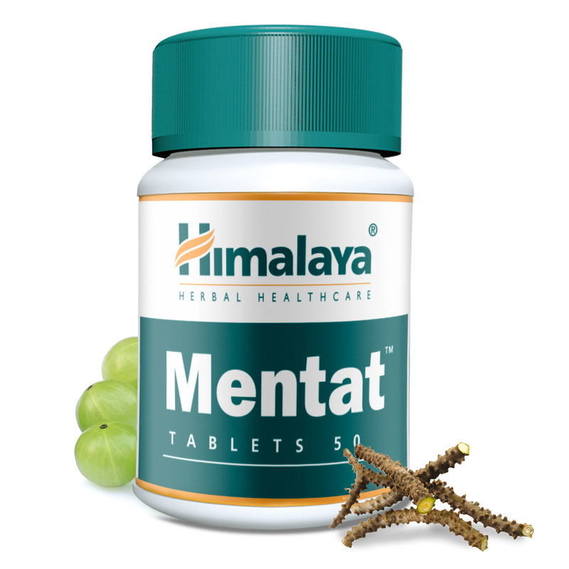 Himalaya Mentat Tablets - Helps to Maintain Balance of Nervous System