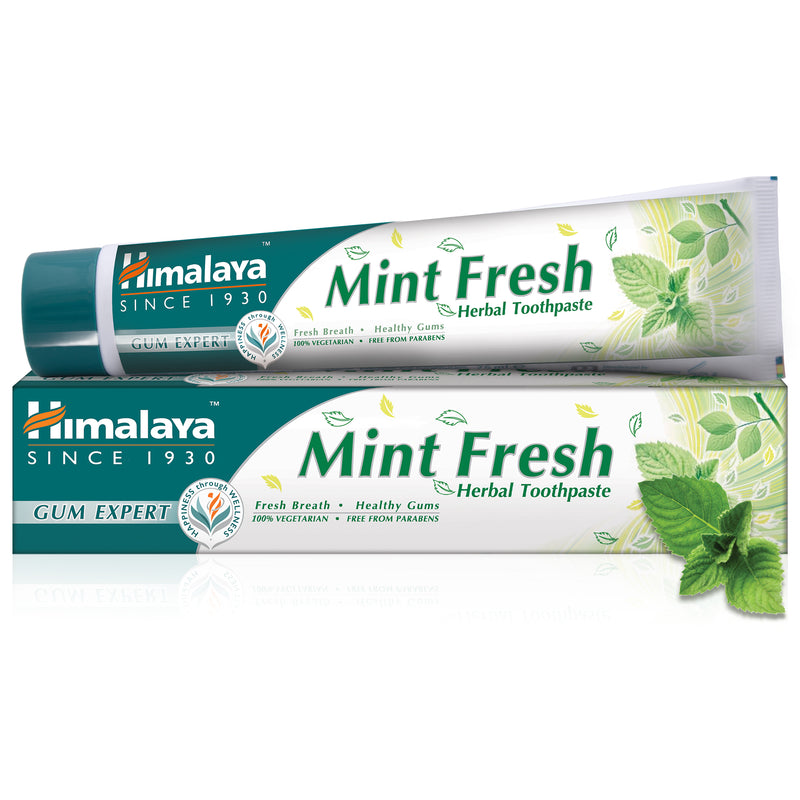 Himalaya Mint Fresh - Gum Expert Herbal Toothpaste